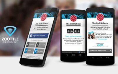 Αυξήστε τις πωλήσεις με το Zoottle Free Wi-Fi